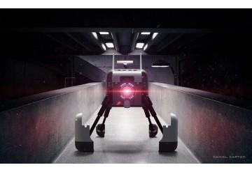 Robot abatible - version abierta 3dMax - Keyshot